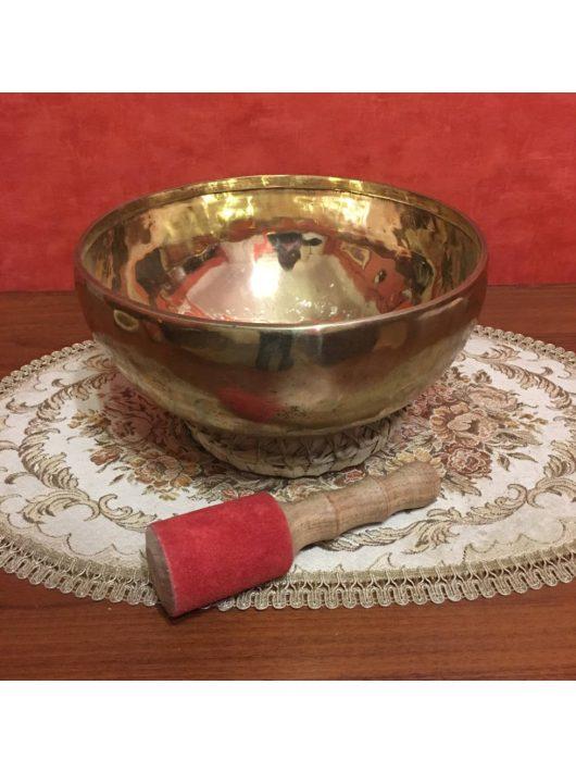 Kézzel készített 7 fémes tibeti hangtál - ø255 mm, 1990 g