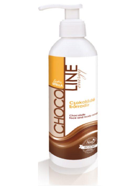 Lady Stella ChocoLine Energy Csokoládé bőrradír - 250 ml