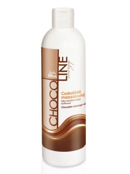 Lady Stella ChocoLine Energy Csokoládé masszázsolaj - 250 ml