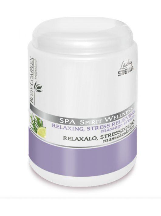 Lady Stella Body Complex Spa Spirit Wellness Relaxáló, stresszoldó masszázskrém - 1000 ml