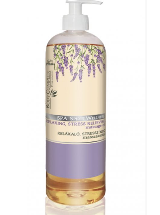 Lady Stella Body Complex Spa Spirit Wellness Relaxáló, stresszoldó masszázsolaj - 1000 ml